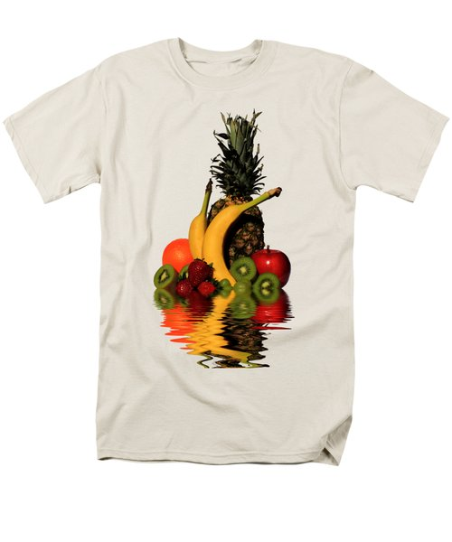 Fruity Reflections - Light Men's T-Shirt  (Regular Fit) by Shane Bechler