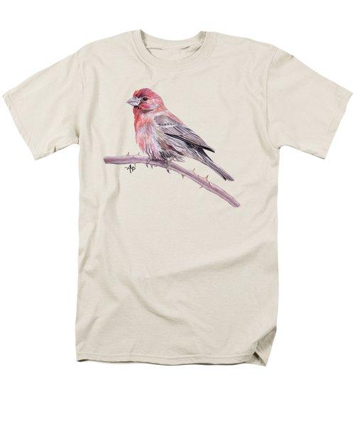 House Finch Men's T-Shirt  (Regular Fit) by Angeles M Pomata