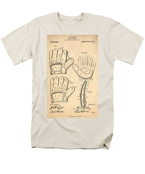 Baseball Glove Patent 1910 T-Shirt by Digital Reproductions
