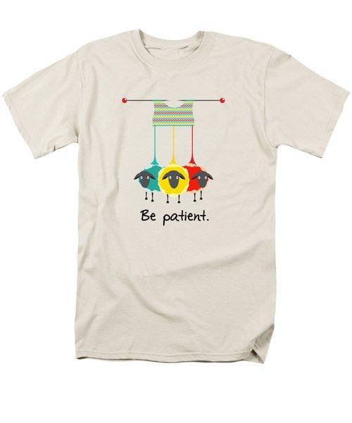 Be Patient Men's T-Shirt  (Regular Fit) by Susan Eileen Evans