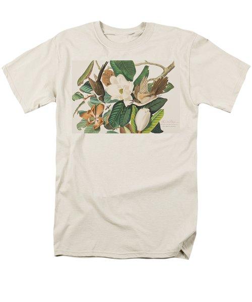 Black Billed Cuckoo Men's T-Shirt  (Regular Fit) by John James Audubon