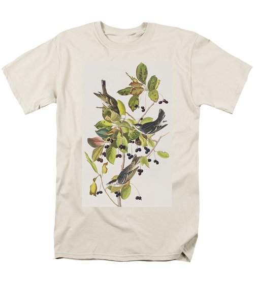 Black Poll Warbler Men's T-Shirt  (Regular Fit) by John James Audubon
