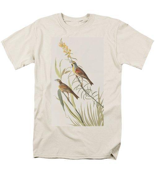 Black-throated Bunting Men's T-Shirt  (Regular Fit) by John James Audubon