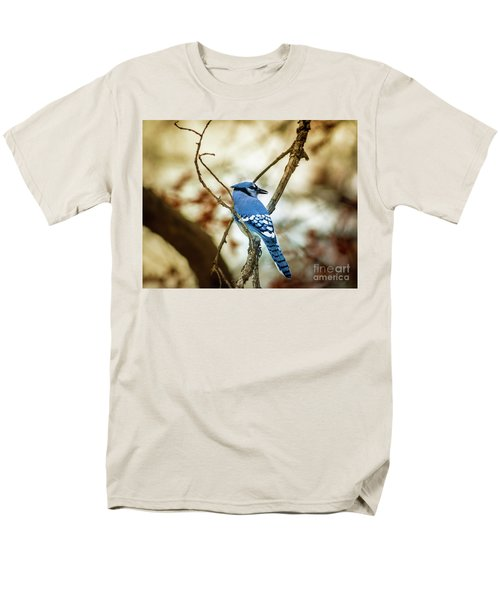 Blue Jay Men's T-Shirt  (Regular Fit) by Robert Frederick