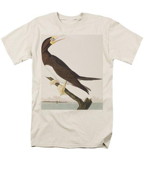 Booby Gannet   Men's T-Shirt  (Regular Fit) by John James Audubon