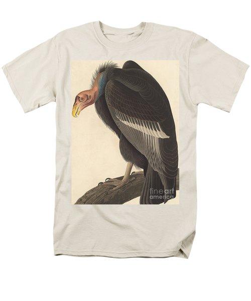 Californian Vulture Men's T-Shirt  (Regular Fit) by John James Audubon