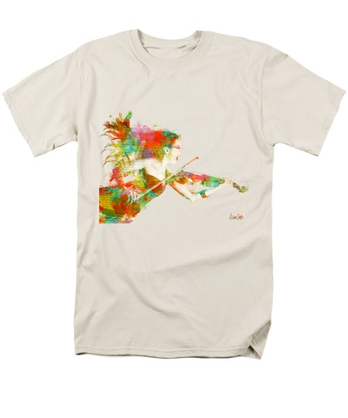 Can You Hear Me Now Men's T-Shirt  (Regular Fit) by Nikki Smith
