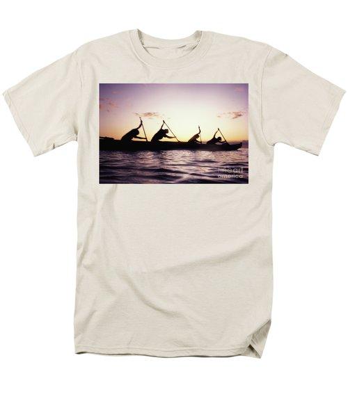 Canoe Race T-Shirt by Bob Abraham - Printscapes