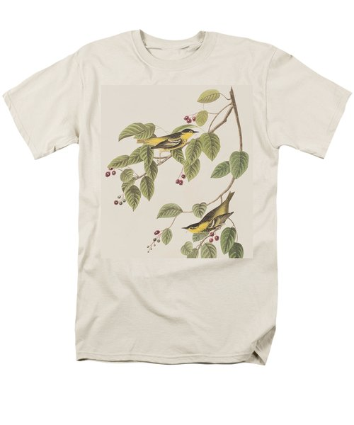 Carbonated Warbler Men's T-Shirt  (Regular Fit) by John James Audubon