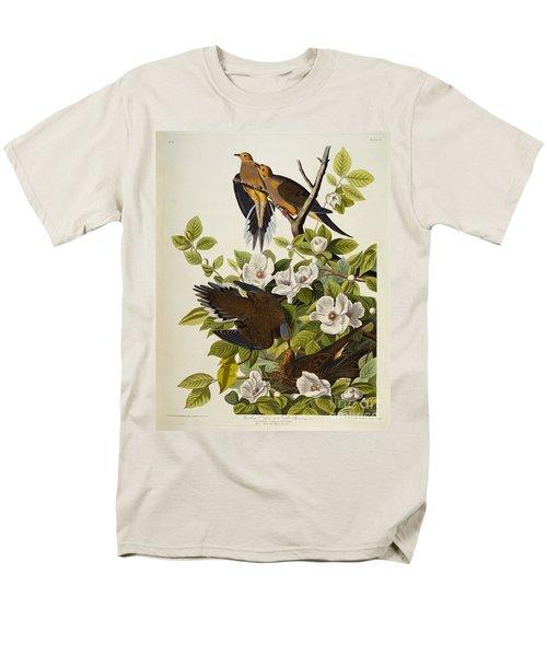 Carolina Turtledove Men's T-Shirt  (Regular Fit) by John James Audubon