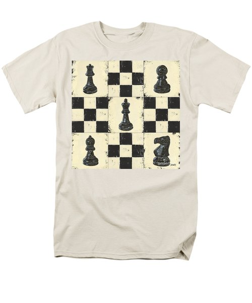 Chess Pieces T-Shirt by Debbie DeWitt