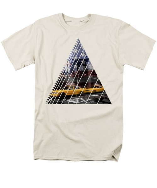 City-art Nyc Composing Men's T-Shirt  (Regular Fit) by Melanie Viola