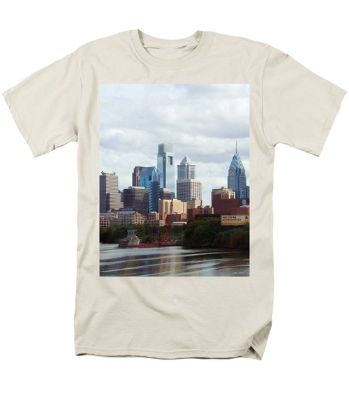 City of Philadelphia T-Shirt by Linda Sannuti