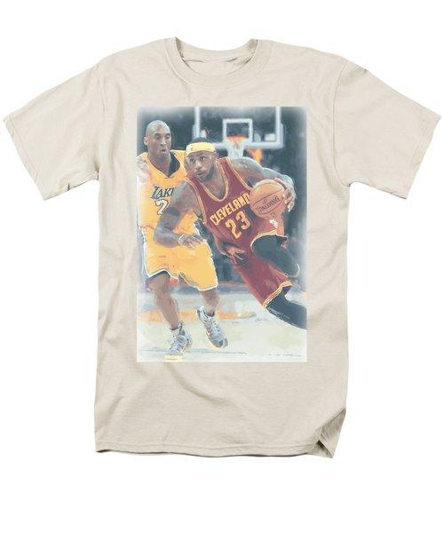 Cleveland Cavaliers Lebron James 3 Men's T-Shirt  (Regular Fit) by Joe Hamilton