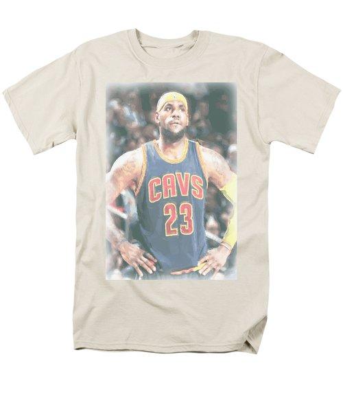 Cleveland Cavaliers Lebron James 5 Men's T-Shirt  (Regular Fit) by Joe Hamilton