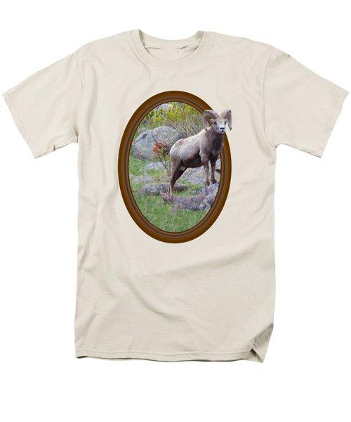 Colorado Bighorn Men's T-Shirt  (Regular Fit) by Shane Bechler