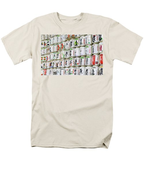 Colorful sake casks T-Shirt by Bill Brennan - Printscapes