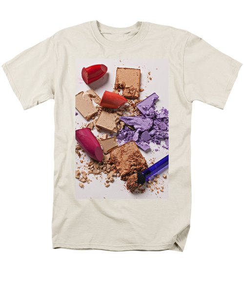 Cosmetics Mess T-Shirt by Garry Gay