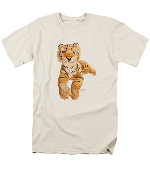 Cuddly Tiger Men's T-Shirt  (Regular Fit) by Angeles M Pomata