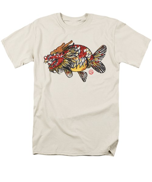 Dragon Ranchu Men's T-Shirt  (Regular Fit) by Shih Chang Yang