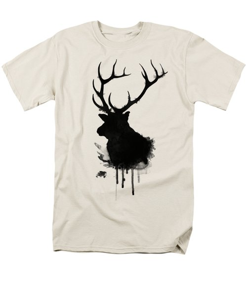 Elk Men's T-Shirt  (Regular Fit) by Nicklas Gustafsson