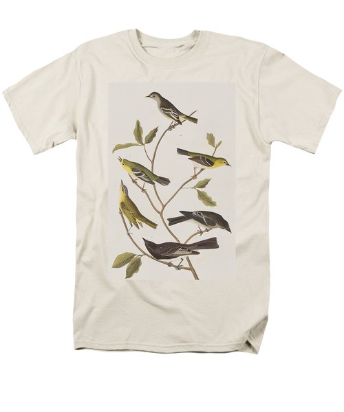 Fly Catchers Men's T-Shirt  (Regular Fit) by John James Audubon