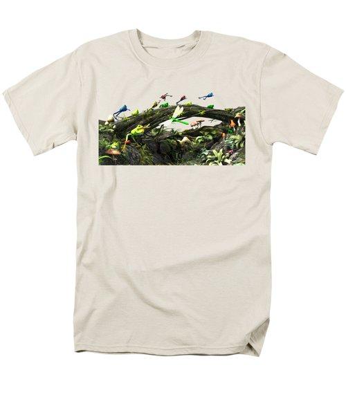 Frog Glen Men's T-Shirt  (Regular Fit) by Methune Hively