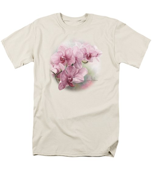 Graceful Orchids Men's T-Shirt  (Regular Fit) by Lucie Bilodeau