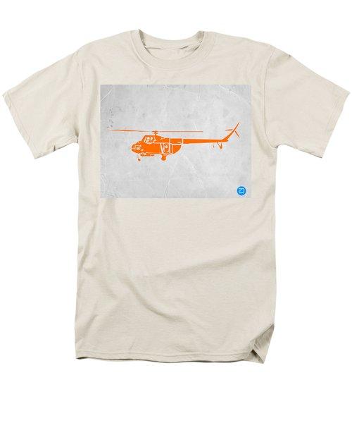 Helicopter Men's T-Shirt  (Regular Fit) by Naxart Studio