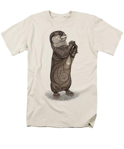 Infatuated Otter Men's T-Shirt  (Regular Fit) by ZH Field