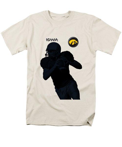Iowa Football  Men's T-Shirt  (Regular Fit) by David Dehner