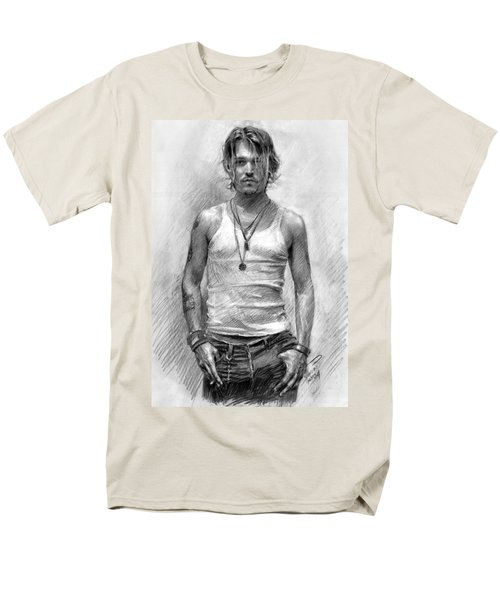 Johny Depp T-Shirt by Ylli Haruni