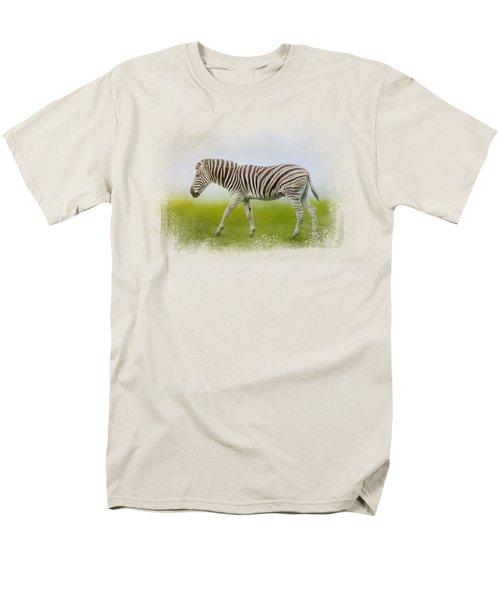 Journey Of The Zebra Men's T-Shirt  (Regular Fit) by Jai Johnson