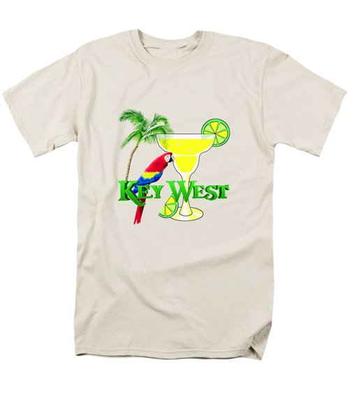Key West Margarita Men's T-Shirt  (Regular Fit) by Chris MacDonald
