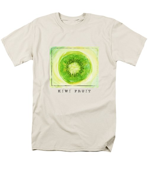 Kiwi Fruit Men's T-Shirt  (Regular Fit) by Kathleen Wong