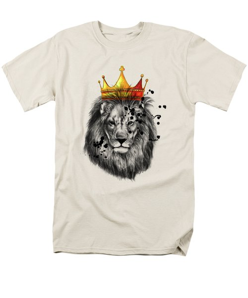 Lion King  Men's T-Shirt  (Regular Fit) by Mark Ashkenazi