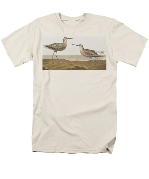 Long-legged Sandpiper Men's T-Shirt  (Regular Fit) by John James Audubon