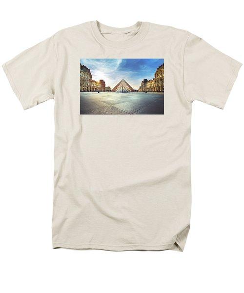 Louvre Museum Men's T-Shirt  (Regular Fit) by Ivan Vukelic