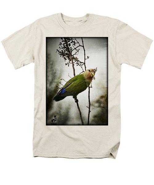 Lovebird  Men's T-Shirt  (Regular Fit) by Saija  Lehtonen