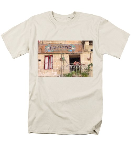 Luciano's Pizza Men's T-Shirt  (Regular Fit) by Jon Delorme