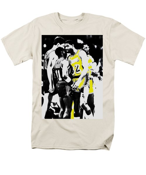 Magic Johnson And Isiah Thomas Men's T-Shirt  (Regular Fit) by Brian Reaves