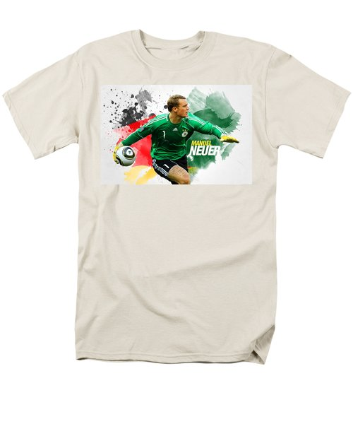 Manuel Neuer Men's T-Shirt  (Regular Fit) by Semih Yurdabak