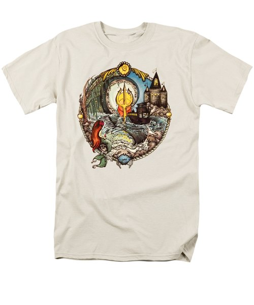 Mermaid Part Of Your World Men's T-Shirt  (Regular Fit) by Cat Dolch