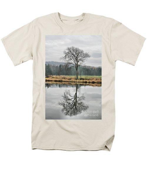 Morning Haze And Reflections T-Shirt by Deborah Benoit