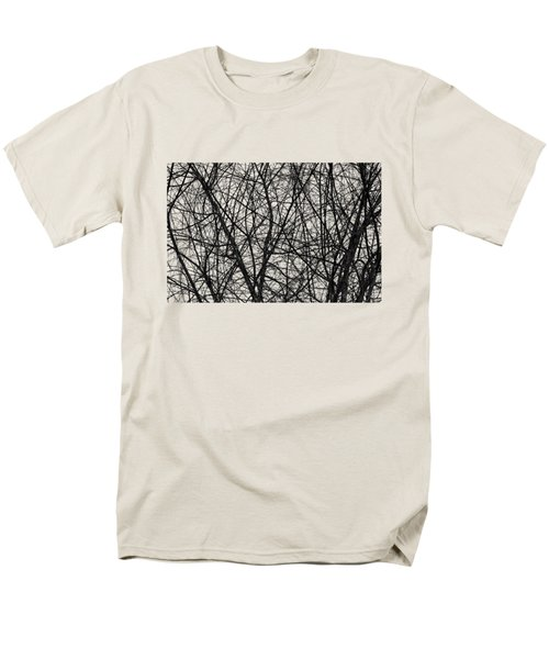 Natural Trees Map Men's T-Shirt  (Regular Fit) by Konstantin Sevostyanov