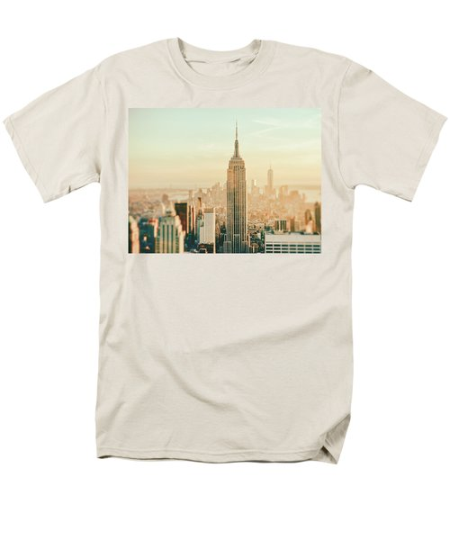New York City - Skyline Dream Men's T-Shirt  (Regular Fit) by Vivienne Gucwa
