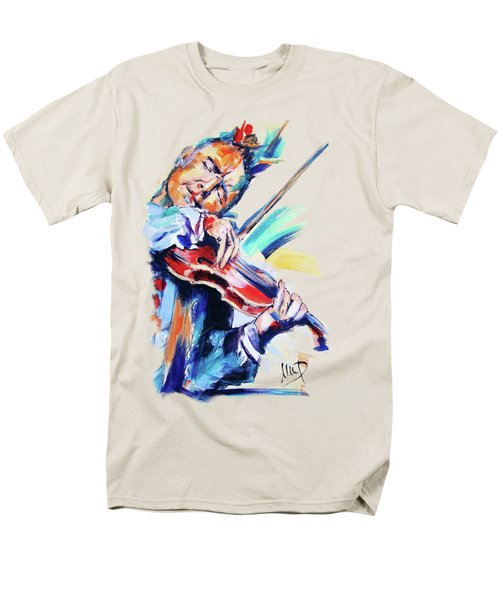 Nigel Kennedy Men's T-Shirt  (Regular Fit) by Melanie D