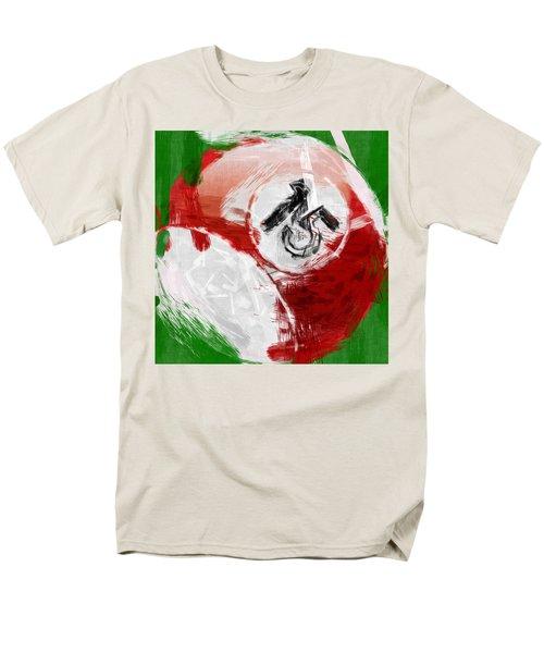 Number Fifteen Billiards Ball Abstract T-Shirt by David G Paul
