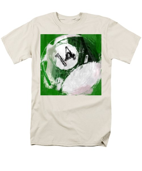 Number Fourteen Billiards Ball Abstract T-Shirt by David G Paul