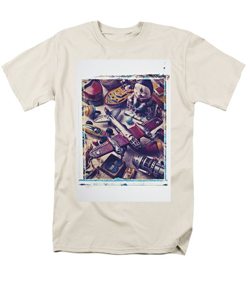 Old plane and other toys T-Shirt by Garry Gay
